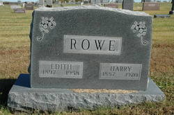 Alice Edith <I>Black</I> Rowe