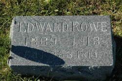 "Pvt Edward ""Ted"" Rowe, Sr"