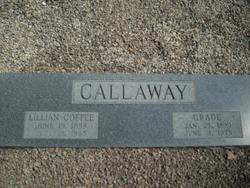 Lillian <I>Coffee</I> Callaway