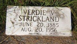 Verdie Virginia <I>Thrift</I> Strickland