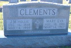 """James Munholland """"Hollie"""" Clements"""
