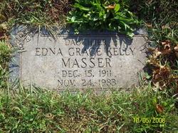 Edna Grace <I>Kelly</I> Masser