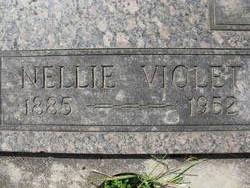 Nellie Violet <I>Clark</I> Wells