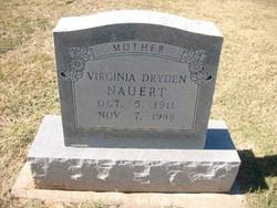 Margaret Virginia <I>Dryden</I> Nauert