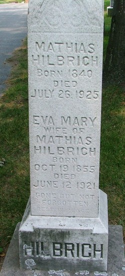 Eva Mary <I>Wickman</I> Hilbrich