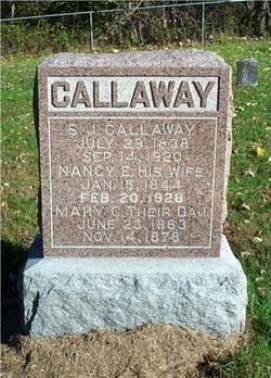 Nancy Elizabeth <I>Courtney</I> Callaway