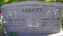 Lydia <I>Knight</I> Abbott