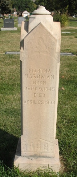 Martha <I>Walters</I> Hardman