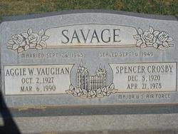 Spencer Crosby Savage