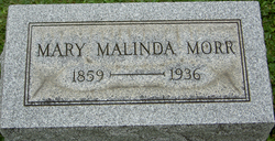 Mary Malinda Morr
