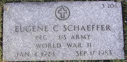 PFC Eugene C. Schaeffer