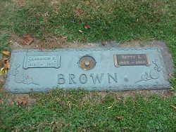 """Clarence Robert """"Blue"""" Brown"""