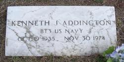 """Kenneth J. """"Kenny"""" Addington"""
