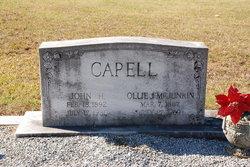 Ollie Jane <I>McJunkin</I> Capell