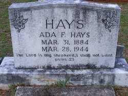 Ada F. Hays