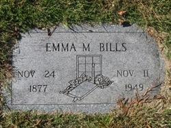 Emma M Bills