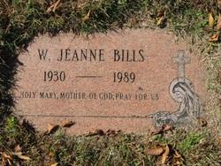 Wilma Jeanne <I>Jacobi</I> Bills
