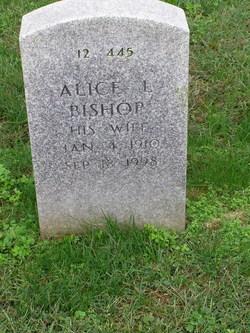 Alice L Bishop