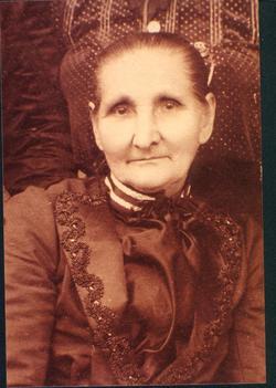 Martha <I>Burwell</I> Alexander