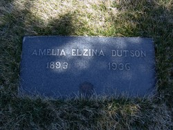 Amelia Elzina Dutson
