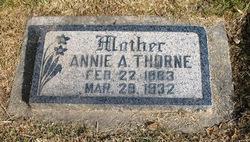Annie Eliza <I>Armitstead</I> Thorne