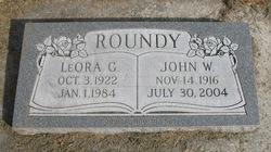 LeOra <I>Gordon</I> Roundy