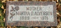 Martha Elizabeth <I>Dorrity</I> Alverson