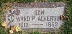 Ward P Alverson