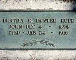 Bertha Ellen <I>Panter</I> Rupp