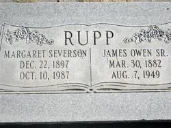 Margaret <I>Severson</I> Rupp