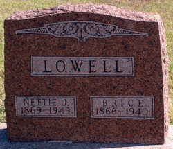 Nettie Jeannette <I>Coffman</I> Lowell