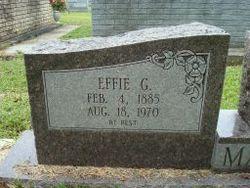 Effie L <I>Strahan</I> Gill Mashon