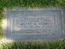 Arlene Anna Lucille <I>Taft</I> Adams