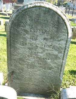 Esther <I>Rogers</I> Flock
