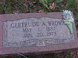 Gertrude Alta <I>Moore</I> Brown