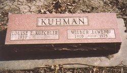 """Wilbur John """"Webb"""" Kuhman"""