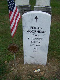Capt Fergus Moorhead