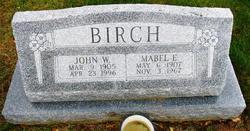Mabel E <I>Hoke</I> Birch