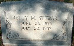 Betty M. <I>Anderson</I> Stewart