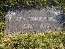 Zina Thora Augusta <I>Thorup</I> White