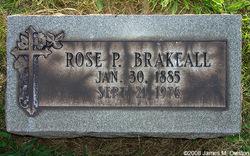 Rosina (Rose) Pauline <I>Schad</I> Brakeall