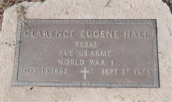 Clarence Eugene Hall