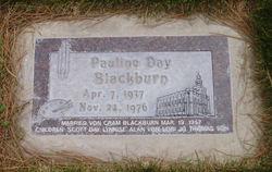 Pauline <I>Day</I> Blackburn