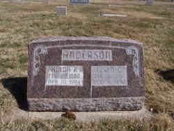 Hulda Amanda <I>Petersen</I> Anderson