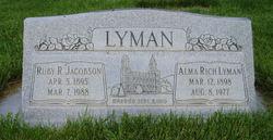 Alma Rich Lyman
