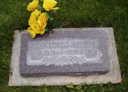 Evan Lovell Sheriff