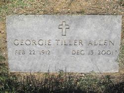 Georgie <I>Tiller</I> Allen
