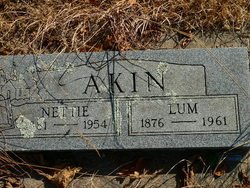 "Christopher Columbus ""Lum"" Akin"