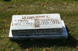 """Gertrude """"Gertie"""" Davis"""