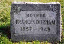 Frances <I>Smith</I> Durham